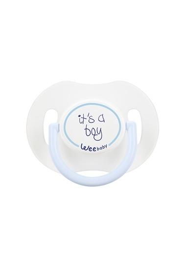 Wee Baby 781 Saplı Kapaklı Emzik Damaklı 0-6 Ay-Wee